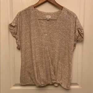 NWOT A New Day Short Sleeve Blouse